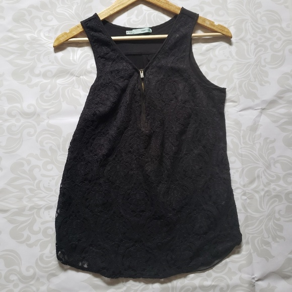 Maurices Tops - 3/$30---Maurices lace/cotton tank